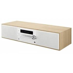 Pioneer X-CM56 HiFi Micro System (CD player, speakers, FM radio, Bluetooth, USB, MP3, 2 x 15 watt) Compact System for kitchen, living room, bedroom and office, White