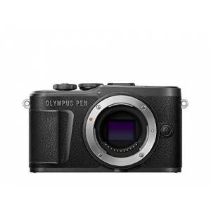 Olympus PEN E-PL10 Micro Four Thirds System Camera, 16 Megapixel, Body Image Stabilization, Swivel Monitor, 4K Video, Wi-Fi, 16 Art Filters, Touch AF Shutter Trigger, 9 Advanced Photo Modes - Black