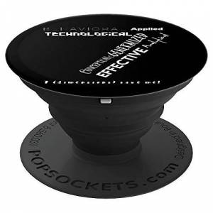 """7 Dimensions of ABA Applied Behavior Analysis """"7 (dimensions) save me!"""" PopSockets Grip and Stand for Phones and Tablets"""