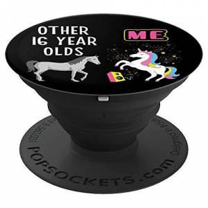 Born In 2004 Wife Girlfriend Best Friend Gifts Tee 16th Birthday Gift Other 16 Year Olds Me Unicorn Lover Girl PopSockets Grip and Stand for Phones and Tablets