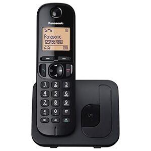 Panasonic KX-TGC210EB Cordless Dect Single Phone with Call Blocking - Black
