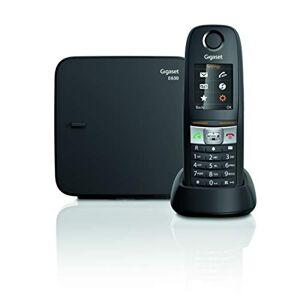 Siemens Gigaset E630 - telephones (DECT, Desk/Wall, Black, TFT, AAA, IP65)