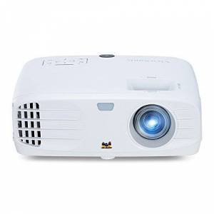 ViewSonic PX700HD Full HD Home Cinema and Gaming DLP Projector (3500 Lumens, 1080p, 3xFast Input, SuperColor Technology, HDMI, Speakers) - White