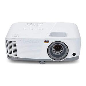 ViewSonic PA503W WXGA Business Projector (3600 Lumens, 800p, DLP, HDMI, 3X Fast Input, SuperColor Technology, 2W Speaker ) - White