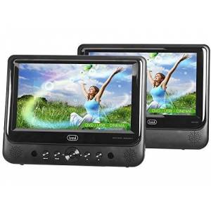 Trevi Portable DVD player with two Display 9 'Trevi TW 7005 inch screen