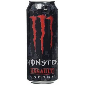 Monster Cable Assault Energy Drink Can 500 ml (Pack of 12)