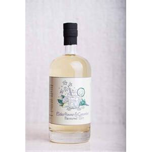 The Little Red Berry Elderflower and Cucumber Flavoured Gin, 70 cl
