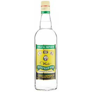 Wray and Nephew Overproof Rum, White - 1 L