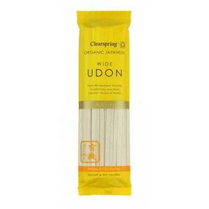 Clearspring Organic Japanese Wide Udon Noodles, 200g