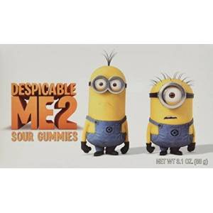 Minions Despicable Me 2 Sour Gummies 88 g (Pack of 6)
