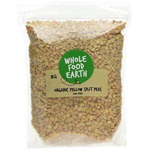 Wholefood Earth Organic Yellow Split Peas, 1 kg