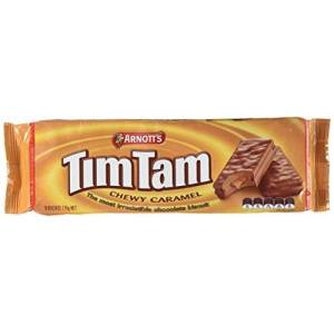 TimTams Arnott's Chewy Caramel Biscuit, 175 g