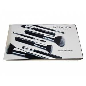 Mesauda Milano Professional Makeup Brush Set with Pouch - 10 g