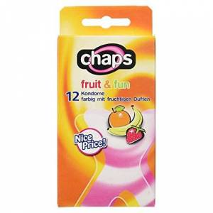 Ritex Chaps Fruit and Fun fragranced Condoms - Pack of 12