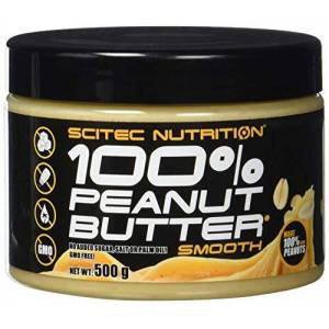 Scitec Nutrition Peanut Butter with Protein - 500g
