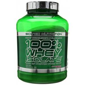 Scitec Nutrition 100% Whey Isolate Powder - 2000g, Strawberry