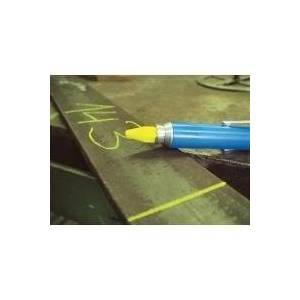 Bleispitz Signing Chalk 12 mm Yellow Pack of 12