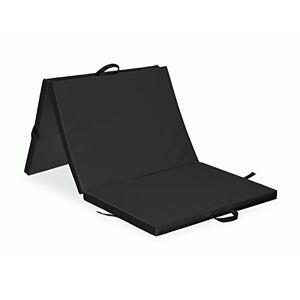 """Habys 3 part Folding Mat 77x33x2"""" Gymnastics Rehabilitation Exercise black"""