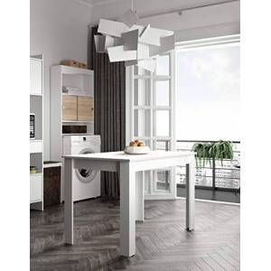 Symbiosis 2280A2121X00 Dining Table - 110 x 70 x 73.4 cm - White