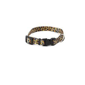 Yellow Dog Design YellowDog Design Standard Leopard Skin Print Adjustable Collar, Small, 3/4-inch