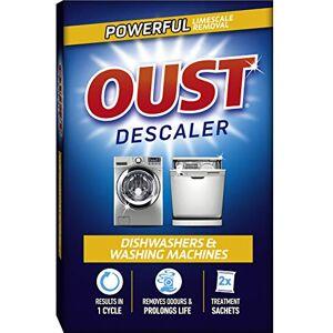 Oust Dishwasher and Washing Machine Descaler - 2 Sachets