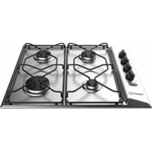 Indesit built-in hob gas 4 burners L 58 cm stainless steel PAA 642IX/I WE Air