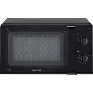 Daewoo Manual Control Microwave, 800 W, 20 Litre, Black