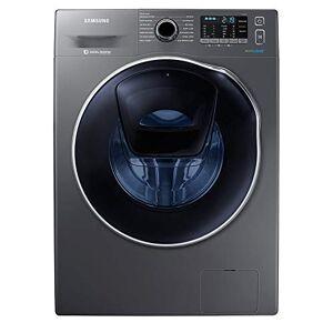 Samsung Addwash ecobubble WD90K5B10OX Freestanding Washer Dryer, 9Kg Wash/6Kg Dry Load, 1400rpm Spin, Graphite