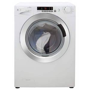 Candy GVSW 485DC Freestanding Washer Dryer, NFC Connected, 8Kg Wash/5Kg Dry Load, 1400rpm Spin, White