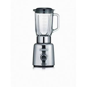 Severin Jug Blender with 1000 W of Power SM 3710, Polished-Stainless-Steel-Black