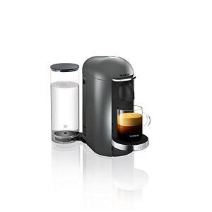 Nespresso Pod Coffee Machine, Krups, Vertuo Plus, Titanium