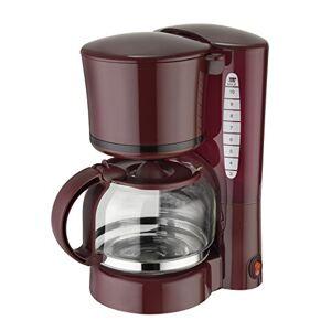EFBE Schott Efbe-Schott SC KA 1080 12-Cup Capacity Filter Coffee Maker, 870 W, 1.25 Litre, Wine Red