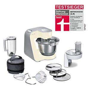 Bosch MUM58920 Multifunctional Food Processor, 3.9 liters, Beige/Silver