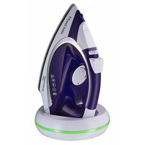 Russell Hobbs 23300 Freedom Cordless Iron, 2400 W, Purple/White, Porcelain
