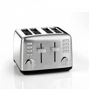 Cuisinart CPT450BPU Signature Collection 4 Slice Toaster, 2000 W, Stainless Steel