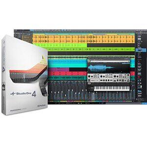 PreSonus Studio One 4 Professional (Boxed) DAW Recording Software
