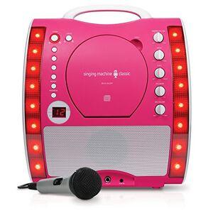 Singing Machine SML343PK Karaoke Machine - Pink
