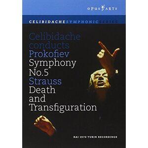Celibidache: Prokofiev/ Strauss [DVD] [1970] (NTSC) [2010]