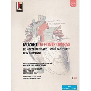 Mozart: Da Ponte Operas (Cosi Fan Tutte/ Don Giovanni/ Nozze Di Figaro ) [DVD] [2011] [NTSC]