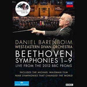 unknown Beethoven: Symphonies 1- 9 (Barenboim) [DVD] [2013]