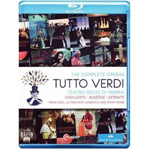 Tutto Verdi: The Complete Operas Highlights (Various Artists) (C Major: 725704) [Blu-ray] [2012] [Region Free]