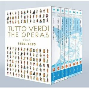 814337012625 Verdi: Operas Vol 3 [Late Operas 1855-93] [C Major: 726208] [DVD] [NTSC] [2013]