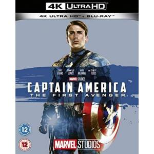 BUQ0300201 Captain America: The First Avenger UHD [Blu-ray] [2019] [Region Free]