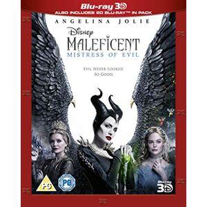 BUY0313201 Maleficent: Mistress of Evil 3D [Blu-ray] [2019] [Region Free]