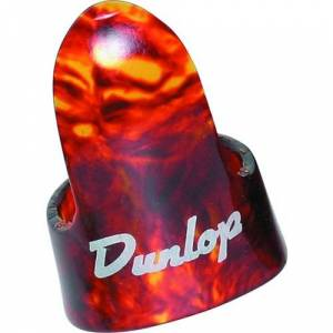 Dunlop 9020R Shell Plastic Fingerpicks, Large, 12/Bag