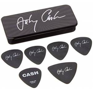 Dunlop Jim Dunlop JCPT03M Johnny Cash Signature Medium Pick Tin