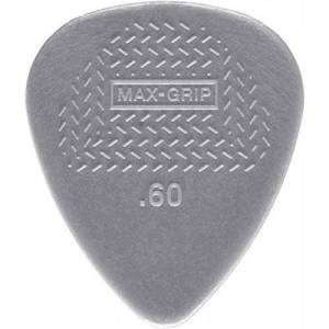 Dunlop Jim Dunlop 449P.60 Nylon Max Grip Guitar Pick Player Pack (Pack of 12)