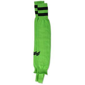 Erima Unisex Stutzen Streifenstutzen Neck stripes socks, Green (Green/Schwarz), 3 (Manufacturer Size: 41-43)
