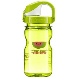 Nalgene Leak Proof Everyday Kids' Outdoor Camping Water Bottle available in Green - 375 ML
