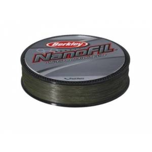 Berkley Nanofil ENF27025-22 0.25mm Lo Vis Fishing Line - Green, 270 m